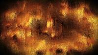 Abstract Liquid Golden Metal Background