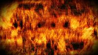 Abstract Grunge Fire Wall Background