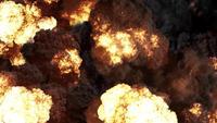 4k explosiones de fuego