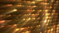 Fondo festivo de luces doradas