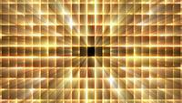 Golden Grid Background Loop