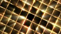 Rotating Golden Grid Background
