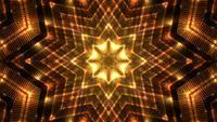 Sternförmige goldene Hintergrundschleife