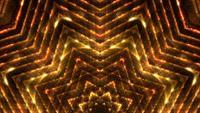 Golden Glowing Lights Hintergrundschleife