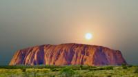 Uluru Sonnenaufgang Australien