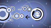 Flecha con animación en círculo