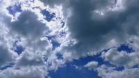 Heavenly Clouds and Blue Sky Time Lapse