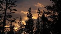 Kvälls moln tidsfördröjning