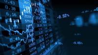 O aumento e diminuição dos valores do mercado de ações