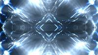 Fond de lumières futuristes clignotantes