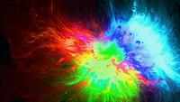 Dynamic Colorful Ink Background