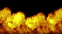 Feuer übernimmt den Bildschirm
