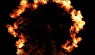 Firy Shockwave op zwarte achtergrond