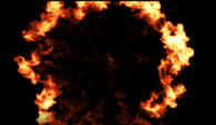 Firy Shockwave sur fond noir