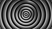 Loop de fundo de círculos hipnóticos
