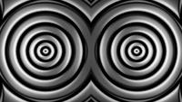 Abstract Hypnotic Circles Loop