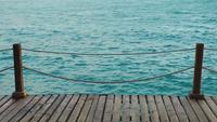 The Dock and Clear Sea