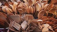 Handmade Wooden Forks and Spoons