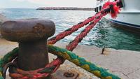 Das Dock und das Meer