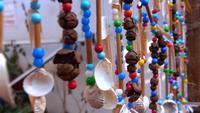 Cuentas de colores ornamentales para celebración