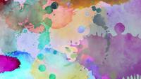 Abstract colored brush strokes background