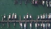 Aerial View from Port at Pattaya Beach, Thailand