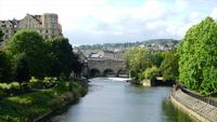 Bath City med Pulteney Bridge