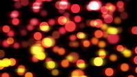 Fond flou rouge et jaune de lumières floues