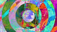 Fond d'art abstrait grunge