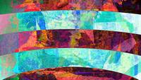 Colorful Grunge Art Background