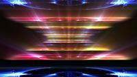 Fond abstrait de lumières colorées