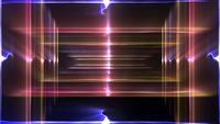 Diseño de luces coloridas parpadeantes