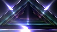 Triangle Lights Background Loop