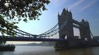 Tower Bridge em Londres, Reino Unido
