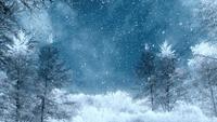 Vinterbakgrundsslinga