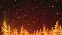 Bucle de fondo de Navidad brillante