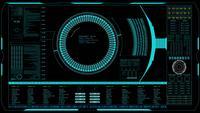 Cyber technologie achtergrond.