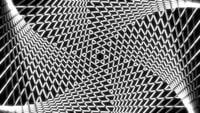 Geometrisch futuristisch ontwerp