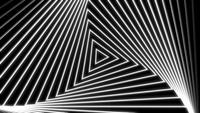 Bucle de fondo de diseño triangular