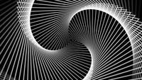 Bucle de diseño abstracto futurista