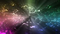 Vloeibare kleurrijke achtergrond lus