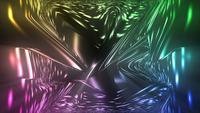 Flödande färgglada ljus
