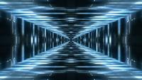 Lights Tunnel Achtergrond Loop
