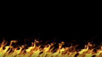 bucle de pared de fuego