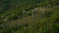 Éoliennes à Samae beach Koh Larn, Paattya, Thaïlande