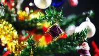 Nyttårsgarnering för julfirande träd och prydnad 5