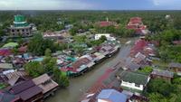 Schwimmender Markt von Ampawa, Samutsongkhram, Thailand