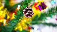 Weihnachtsfeier Neujahrsdekoration Baum und Ornament 4