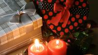 Candles Light Romance and Gift Boxes