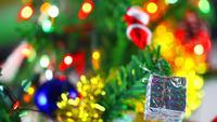 Weihnachtsfeier Neujahrsdekoration Baum und Ornament 3
